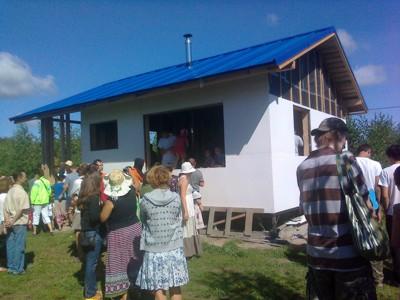 День Земли 2012 Лесная поляна Звениговский район Республики Марий эл